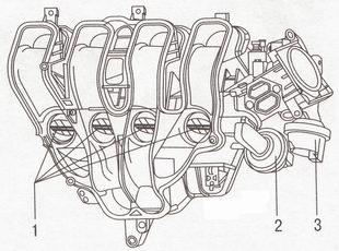 Впускной трубопровод Форд Фокус 2