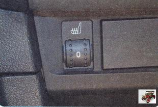 регуляторы обогрева передних сидений