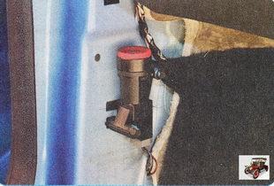кнопка аварийного отключения подачи топлива
