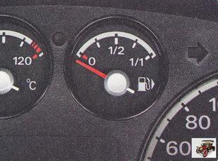 указатель уровня топлива электромагнитного принципа действия