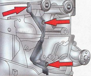 Задняя крышка ремня привода газораспределительного механизма Форд Фокус 2
