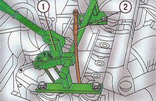Приспособления для снятия пружин клапанов Форд Фокус 2