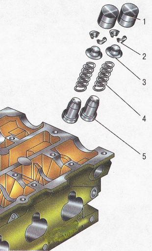 Детали привода клапанов Форд Фокус 2
