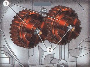 Крепление механизмов VCT Форд Фокус 2
