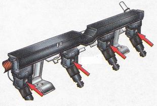 Отсоединение от форсунок рампы электрических разъемов Форд Фокус 2