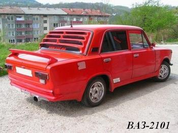 Тюнинг автомобиля ваз 2101 копейка