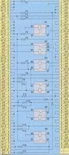 схема соединений блока реле и предохранителей ваз 2107