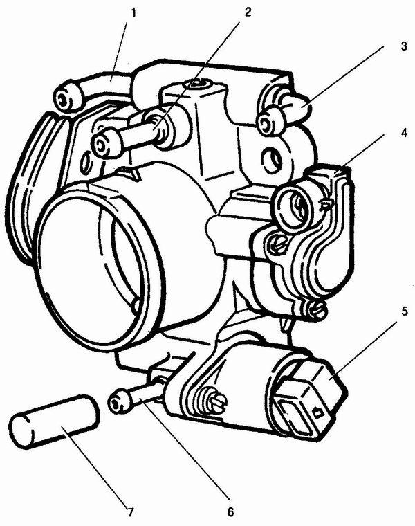 Фото №48 - дроссельная заслонка схема ВАЗ 2110
