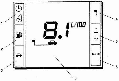 маршрутный компьютер ваз 2110 - ваз 2111 - ваз 2112
