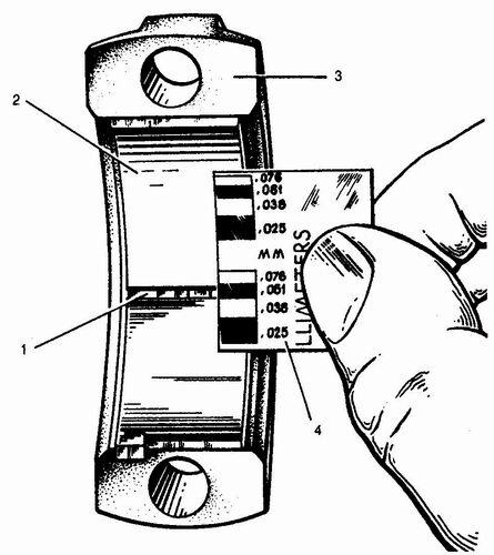 измерение зазора в шатунном подшипнике ваз 2110, ваз 2111, ваз 2112
