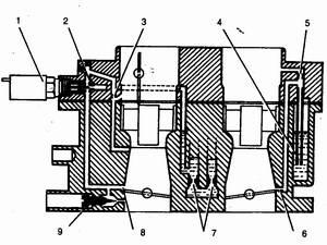 схема системы холостого хода и переходных систем карбюратора ваз 21083