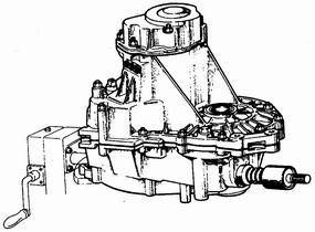 коробка передач ваз 2110-ваз 2111-ваз 2112 установленная на стенде