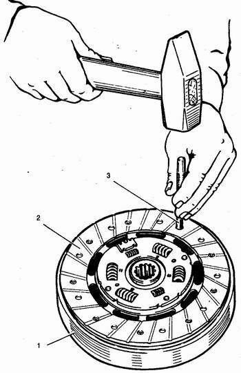 замена фрикционных накладок ведомого диска сцепления ваз 2110 - ваз 2111 - ваз 2112