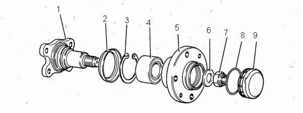 параметры для проверки пружины задней подвески ваз 2110-ваз 2111-ваз 2112
