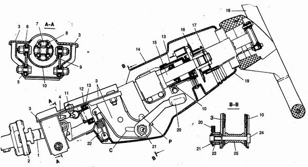 рулевой механизм ваз 2110-ваз 2111-ваз 2112 с приводом в сборе