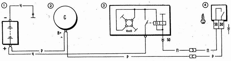 схема включения стартера ваз 2110 инжектор - Микросхемы.