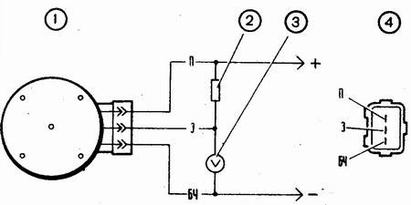 схема проверки бесконтактного датчика зажигания ваз 2110-ваз 2111-ваз 2112