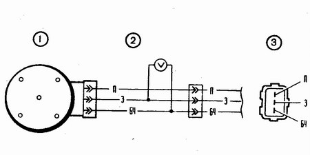 схема проверки бесконтактного датчика на автомобиле ваз 2110-ваз 2111-ваз 2112
