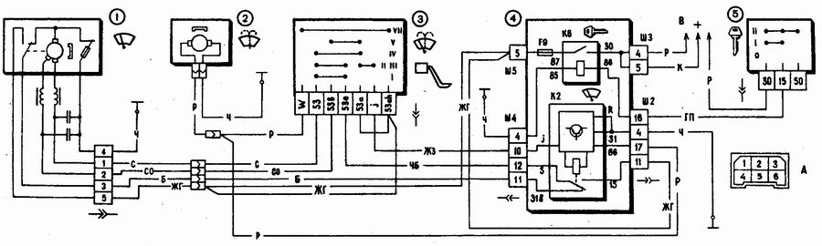 1 - электродвигатель