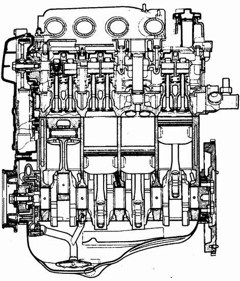 Автомобили ваз жигули лада Схемы рабочих цилиндров двигателей ваз как ваз 21102 и ваз 21103 Схема ваз 2110...