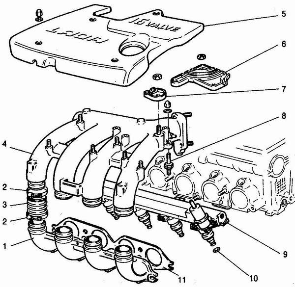 Схема разборки двигателя на ваз 2112.