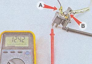 проверка щеток генератора