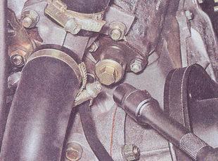 гайка натяжителя цепи грм автомобиль ваз 2107