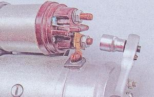 гайка контактного болта вывод обмотки статора