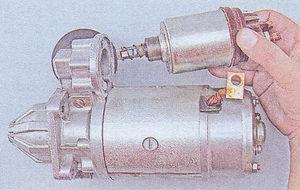 втягивающее реле стартера ваз 2107