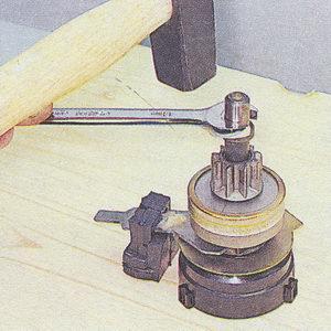 ограничительное кольцо хода привода стартера