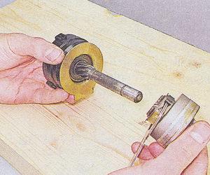 привод стартера в сборе с рычагом и муфтой