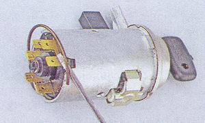 стопорное кольцо контактной группы замка зажигания