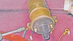 гайки крепления катушки зажигания ваз 2107