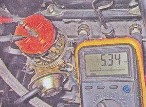 проверка сопротивления резистора бегунка
