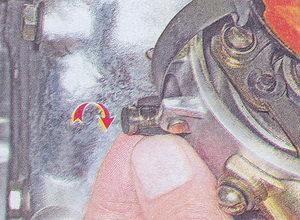 масленка втулки валика трамблера