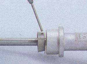 пружинный штифт крепления муфты валика трамблера