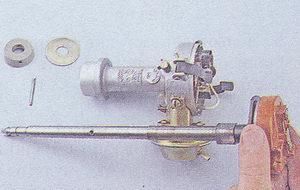 валик, муфта с шайбой, штифт, корпус распределителя зажигания