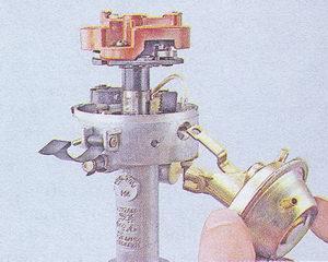 вакуумный регулятор ваз 2107 - распределитель зажигания ваз 2107