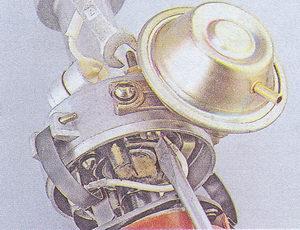 контактная группа распределителя зажигания ваз 2107