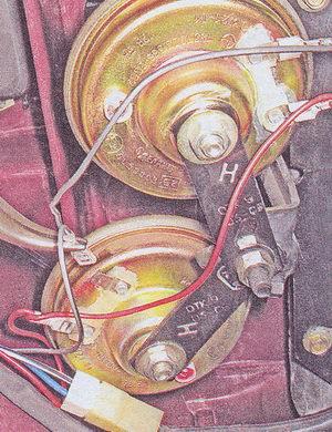 наконечник вывода звукового сигнала ваз 2107