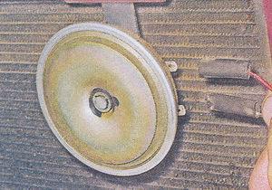 провода питания звукового сигнала