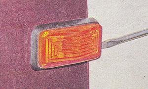 снятие указателя поворота ваз 2107