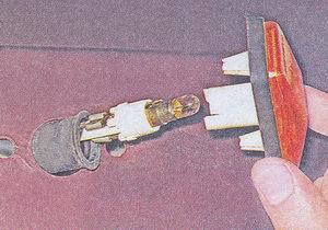 лампа указателя поворота - корпус указателя поворота