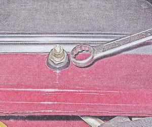 гайка крепления привода рычага щетки стеклоочистителя ваз 2107