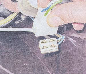 колодка жгута проводов мотор редуктора стеклоочистителя