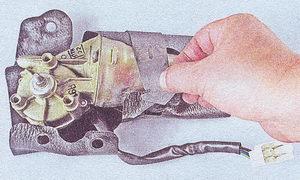грязезащитный чехол мотор редуктора стеклоочистителя
