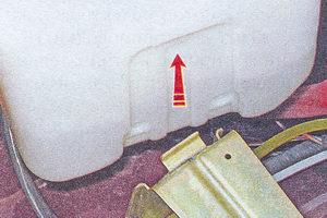 бачок стеклоомывателя ваз 2107