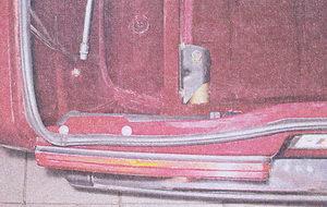 гайка кронштейна крепления заднего бампера ваз 2107