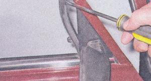 уплотнитель передней рамки двери