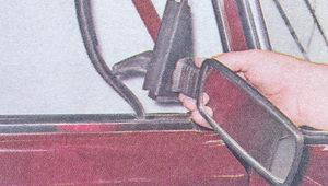 наружное зеркало заднего вида ваз 2107